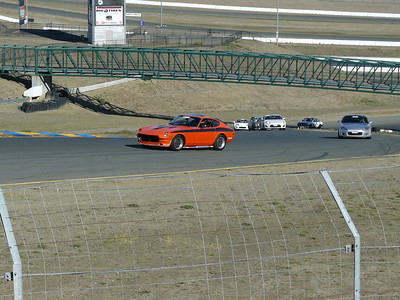 Sonoma Raceway parade lap during the TMR autocross